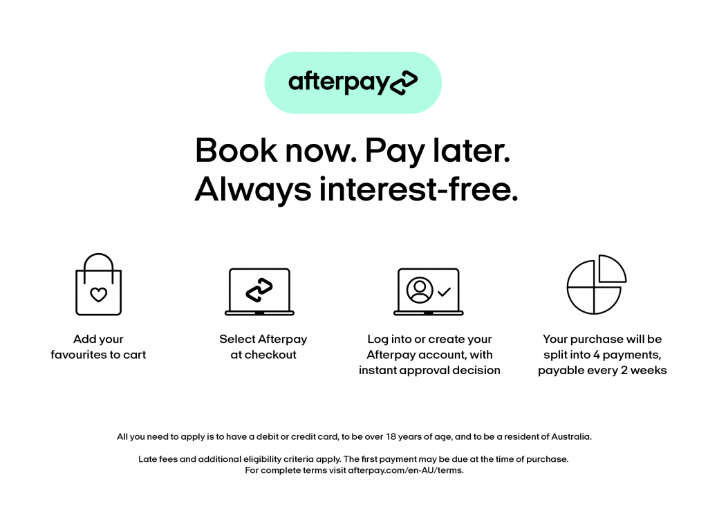 Afterpay at Eden Laser Clinics